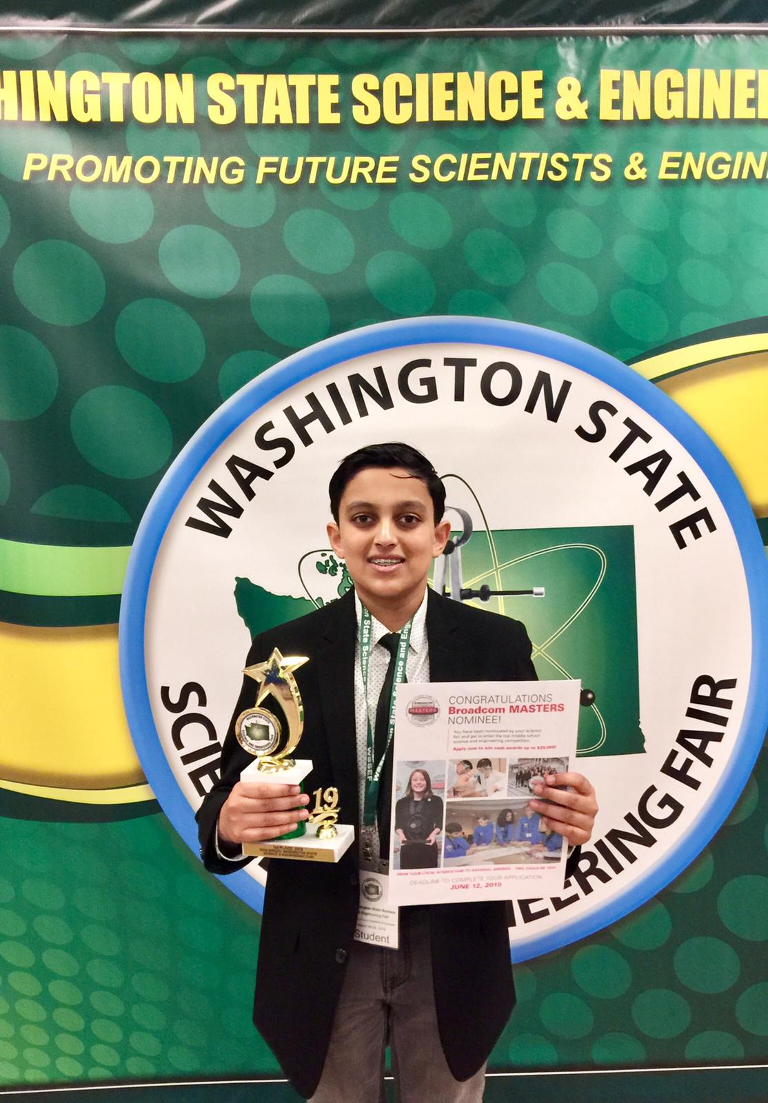 Aarav Takes First Place