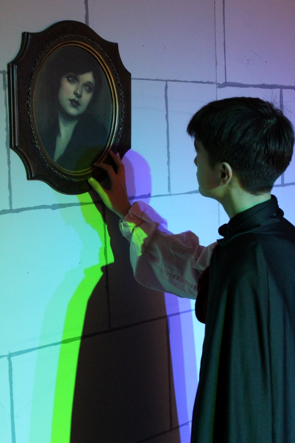 Character of Prospero Gazing Lovingly into the eyes of the portrait of his deceased fiancee Annabel Lee